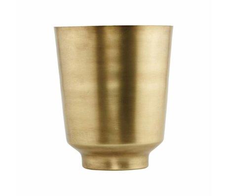 Housedoctor Flowerpot Oli Gold iron Ø20x25cm