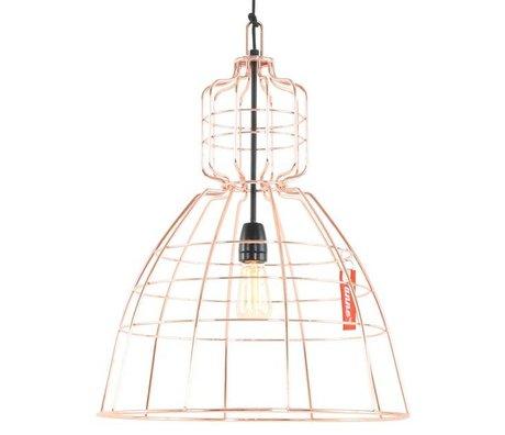 Anne Lighting Hanglamp Anne MarkllI oranje koper metaal ø43x68cm