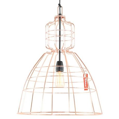 Anne Lighting Hanging lamp Anne MarkllI orange copper metal ø43x68cm