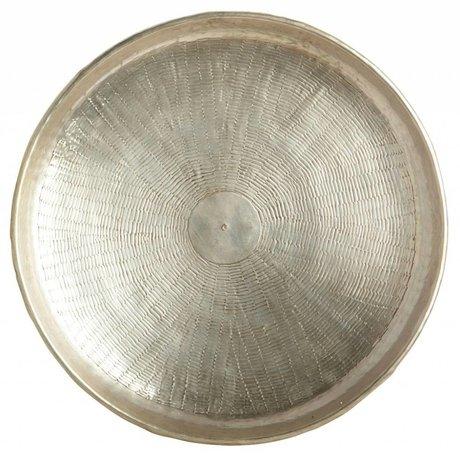 Housedoctor Dienblad Carve gold metal Ø38cmx1,5cm