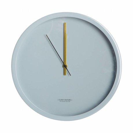 Housedoctor Uhr Uhr Couture grau Aluminium Ø30cm