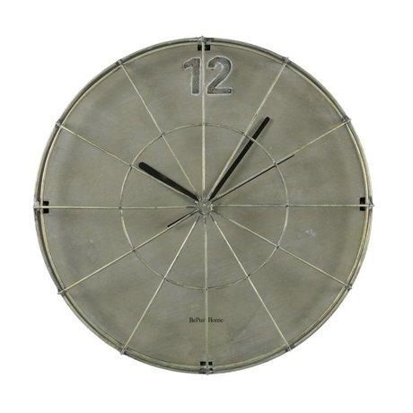 BePureHome Clock Spotlight gray iron 45x45x11cm