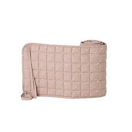 Ferm Living Tour de lit Chut MilkyWay coton rose polyester 28x180cm