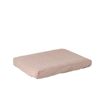Ferm Living Dressing cushion cover Hush gray cotton - Copy