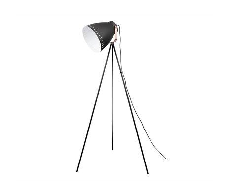 Leitmotiv Floor lamp Mingle black metal ø26,5x145cm