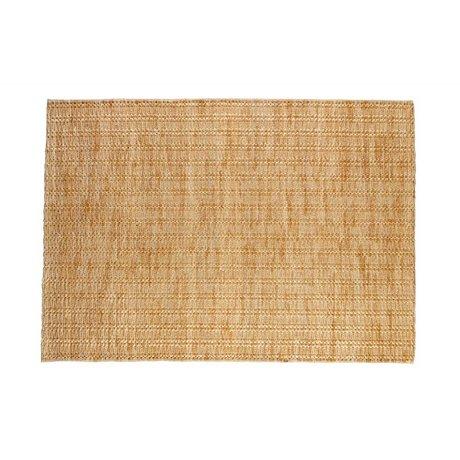BePureHome Vloerkleed Scenes naturel bruin jute 170x240cm