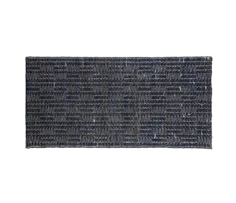 BePureHome Flooring Scenes Soft Black Jute 70x140cm