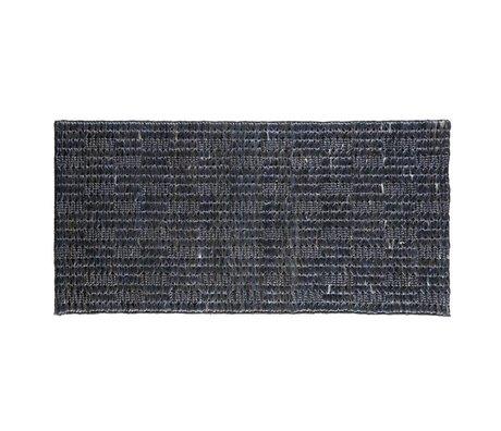 BePureHome Vloerkleed Scenes soft zwart jute 70x140cm