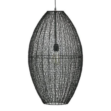 BePureHome Hanglamp Creative XL zwart metaal 70x40x40 cm