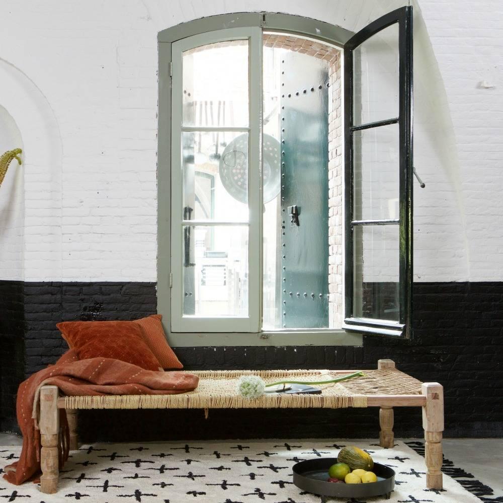 bepurehome mehr teppich aus wei er baumwolle 170x240cm wonen met lef. Black Bedroom Furniture Sets. Home Design Ideas