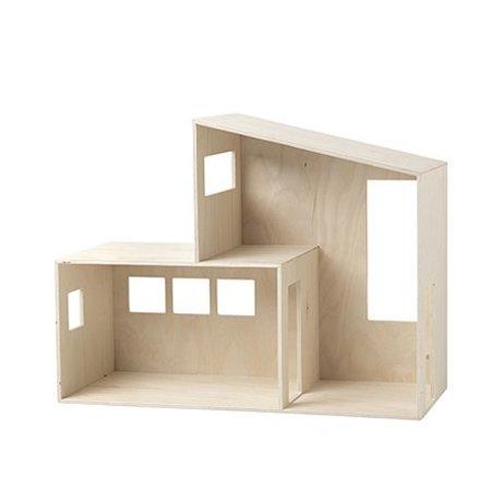 Ferm Living Poppenhuis Funkis small hout 47.7x36.4x20cm