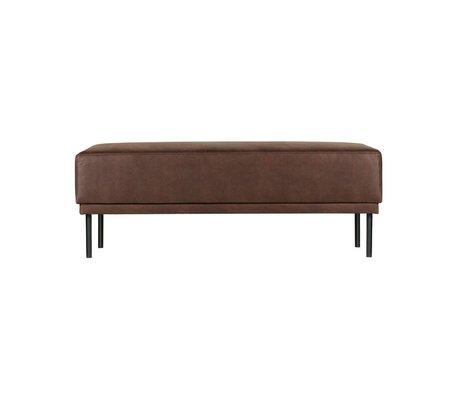 BePureHome Révolution cuir marron Pouf chocolat 41x126x60cm