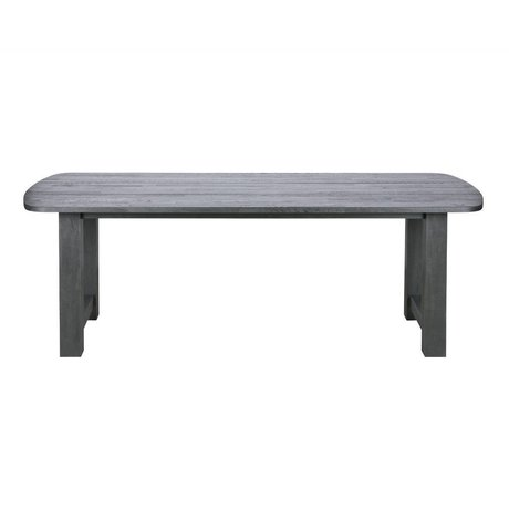 BePureHome Dining table Identity blacknight black oak wood 220x90x76cm