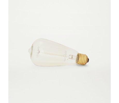 Frama Lampenbol LED ateltier lights drop transparant glas 12×6,5cm