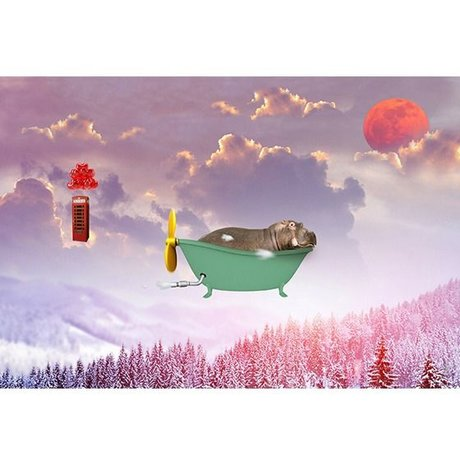 Arty Shock Schilderij Sweet dreams S multicolor plexiglas 90x60cm