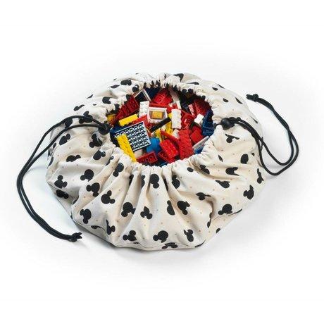 Play & Go Sac de rangement / Mini Mickey playmat coton multicolor Ø40cm
