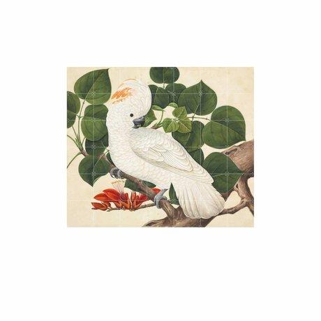 IXXI Wanddecoratie Cockatoo multicolour papier L 140x120cm