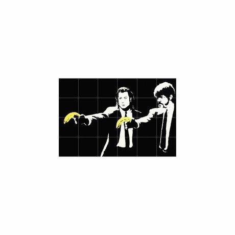 IXXI Wanddecoratie Pulp Fiction multicolour papier S 120x80cm