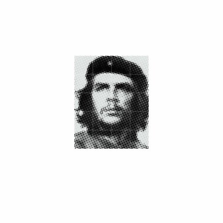 IXXI Wanddekoration Che Guevara Pop-Art-buntes Papier S 80x100cm
