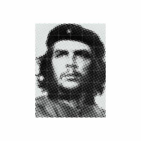 IXXI Wanddekoration Che Guevara Pop-Art-buntes Papier L 120x160cm