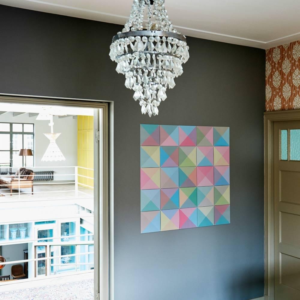 Ixxi d coration murale loco couleur pastel papier for Decoration murale papier