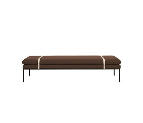 Ferm Living Daybed Drehen Rost Nylonwolle 190x80x42,5cm