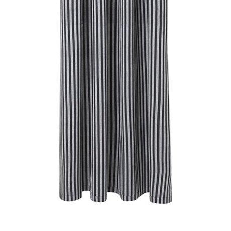 Ferm Living Chambray grauen Vorhang gestreepd Baumwolle 160x205cm