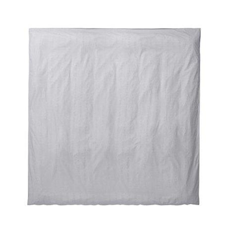 Ferm Living Duvet cover Hush light gray 220x220cm