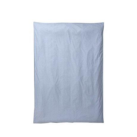 Ferm Living Dekbedovertrek Hush licht blauw 150x210cm