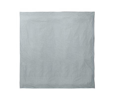 Ferm Living Duvet cover Hush dusty blue 220x220cm