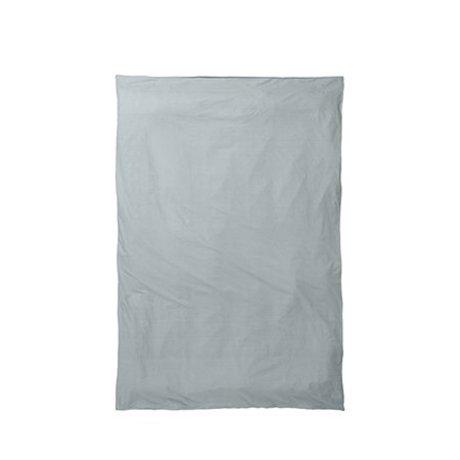 Ferm Living Dekbedovertrek Hush dusty blauw 150x210cm