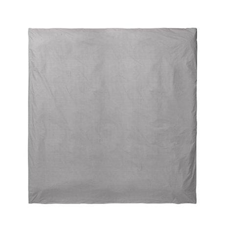 Ferm Living Dekbedovertrek Hush grijs 220x220cm