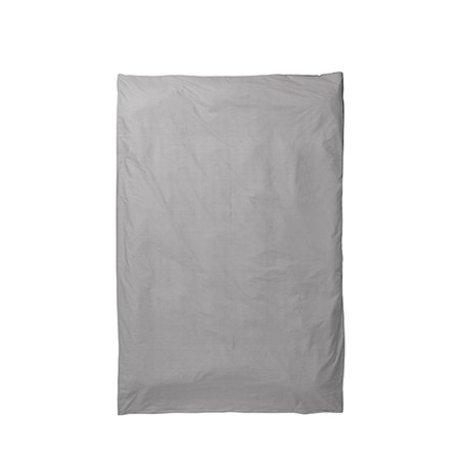 Ferm Living Dekbedovertrek Hush grijs 150x210cm