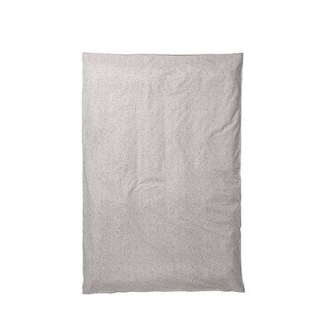 Ferm Living Duvet cover Hush milky way cream 150x210cm