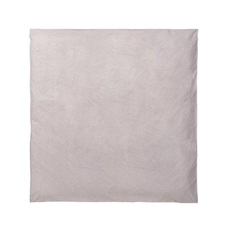 Ferm Living Duvet cover Hush milky way pink 220x220cm