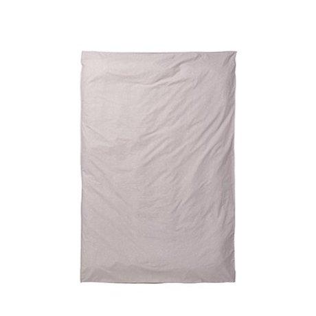 Ferm Living Dekbedovertrek Hush milky way roze 150x210cm
