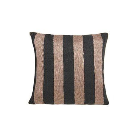 Ferm Living Ornamental cushion Bengal velours cotton 40x40cm