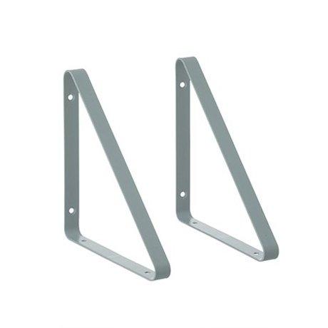 Ferm Living Plankdragers licht blauw metaal 24.5x24.5x2.5cm