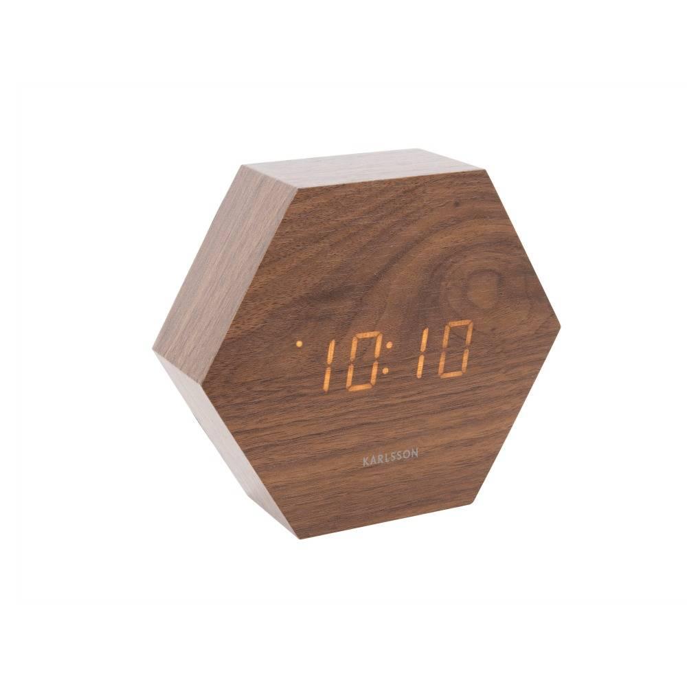 wecker aus holz latest fibisonic led digital wecker holz wrfel tischuhr bambuswei with wecker. Black Bedroom Furniture Sets. Home Design Ideas