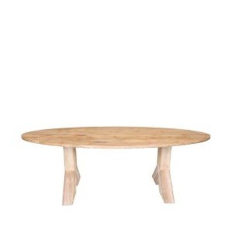 LEF collections Dining table Most brown oak 230x110x76 cm