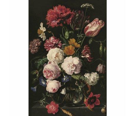 KEK Amsterdam Houten paneel Golden Age Flowers 2 L 75x100cm