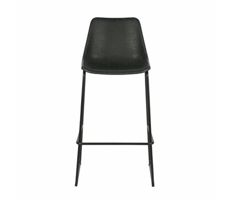 LEF collections Bliss bars Chair black plastic 53x52x75cm - Copy - Copy - Copy