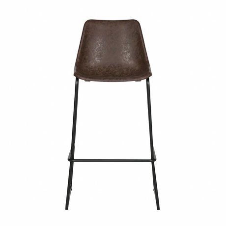 LEF collections Bliss bars Chair black plastic 53x52x75cm - Copy - Copy - Copy - Copy