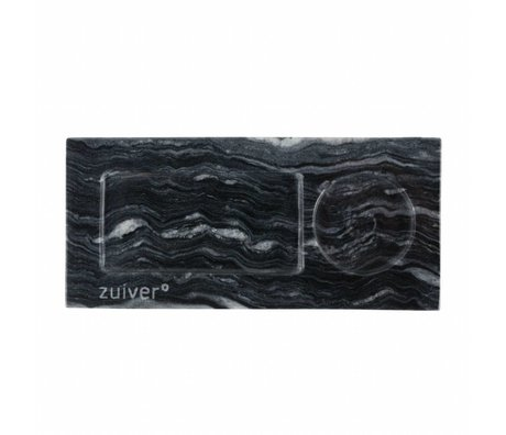 Zuiver Tray grauer Marmor, Marmor grau 22x10x1,5cm