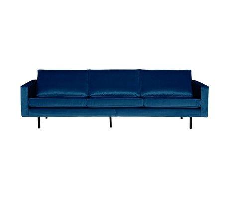 BePureHome Bank Rodeo 3-zits Nightshade donker blauw fluweel velvet 85x277x86cm