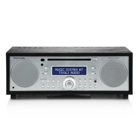 Tivoli Audio Radio Music System BT silver timber 35,88x24,13x13,34cm