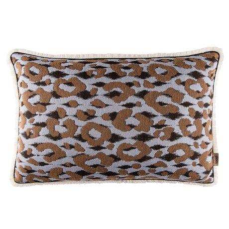 POM Amsterdam Kissen Leopard muticolor 40x60cm