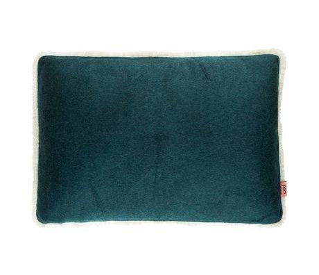 POM Amsterdam Kissen weicher Tropfen Wald grün Textil 40x60cm