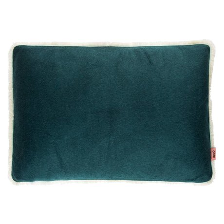 POM Amsterdam Soft cushion Soft Drops Forest green textile 40x60cm
