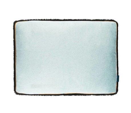 POM Amsterdam Kissen weiche Tropfen Meer blau Textil 40x60cm